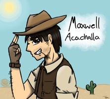 Maxwell Acachalla by TheSilverPie