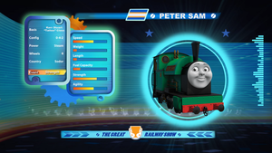 Peter Sam in the Great Railway Show! by The-ARC-Minister