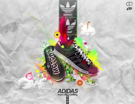 Adidas - impossible is nothing by cassi94