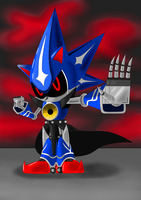 Contest Entry: Neo Metal Sonic by sergeant16bit