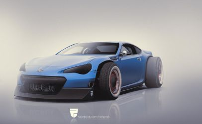 Subaru BRZ by rainprisk