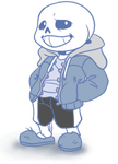 Page doll// Sans by EmberCL