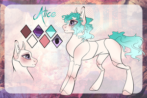 Alice|Reference sheet by PurpleSplash1372
