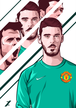 De Gea by zhafranth