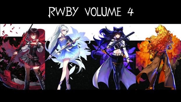 RWBY Volume 4 outfits by bkmacrunner