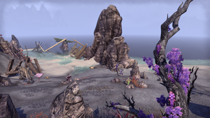 ESO Shoreline and Purple Flowers by Kohlheppj13