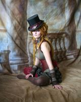 Steampunk Circus Doll 8 by mizzd-stock