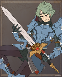 Alm Commission Flat Colors by nayuun