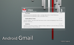 Android 4.0 Gmail |  v1.5 by KreDoc