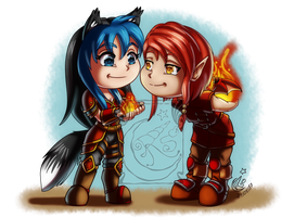 CM - Shad and Aira by LadyRosse