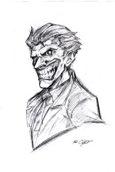 Joker in 9 min by Mark-Clark-II