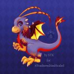 Feathery Dragon - Mascot Contest by starduo