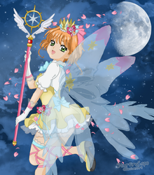 Cardcaptor Sakura Clear Card Night by StarfireEspo