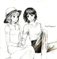 Sophie and Howl by Fruit-fragrance