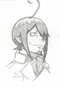 Blue Exorcist Mephisto drawing by DovahkiinRuvaak