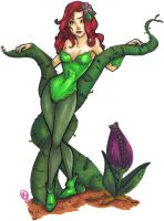 Poison Ivy by DivingSiren