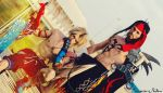 Father and Son - Jecht and Tidus Cosplay Art by LeonChiroCosplayArt