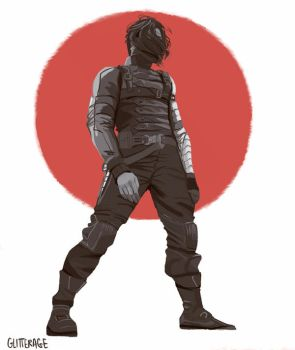 The Winter Soldier by glitterage