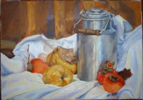 Quinces and persimmons. by PetraLAAI