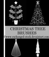 Christmas TwEeE Brushes by exchanged-stock