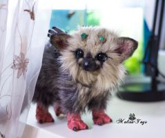 Poseable toy baby Trico by MalinaToys