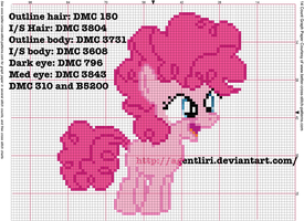 Pinkie Pie Filly Cross Stitch Pattern by AgentLiri