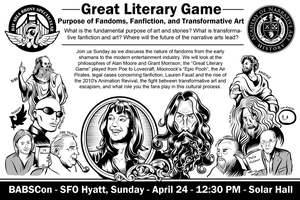 Tranformative Art/Great Literary Game Panel by SouthParkTaoist