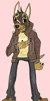 Anthro Pinscher Mix OTA [CLOSED] by KRPD-Adopts