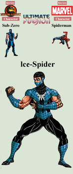 10/300 - Icespider - Ultimate Fusion by eksoz
