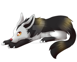 Mightyena by SolarXolverite