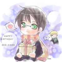 HBD Zee-chan by cheeka-pyo