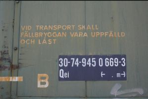 Train text by enframed