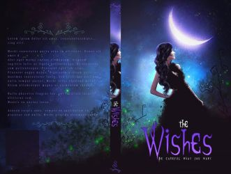 Book Cover - The Wishes (for sale) by VanessaPadua