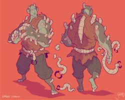 Karnov Worms by jouste
