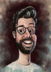 Exaggerated Louis-Julien by Gizmoatwork