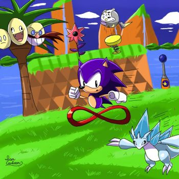 Sonic and His New Friends by ian9000