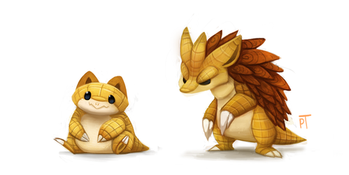 Kanto 027 - 028 by Cryptid-Creations