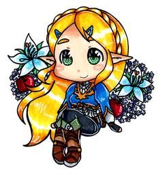 LoZ - Fruits n Flowers by Imimi-Ai