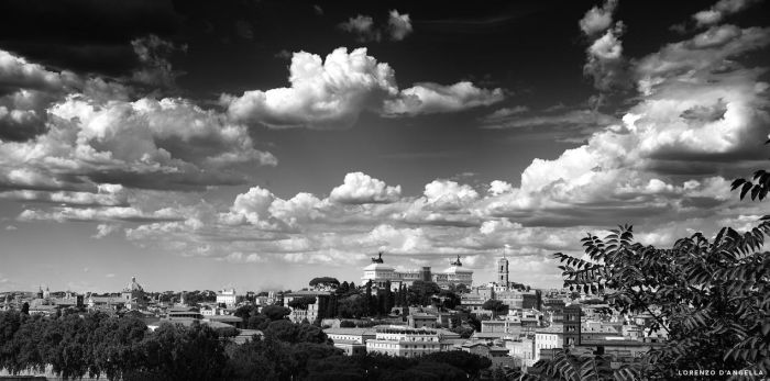 Cloudy roman summer day by ZioRollo