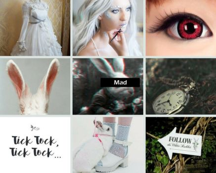 AIW White Rabbit OC Aesthetic By: Lavi by Lavi-Mukami-Adopts