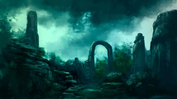Arch of the Ancients by Stungeon