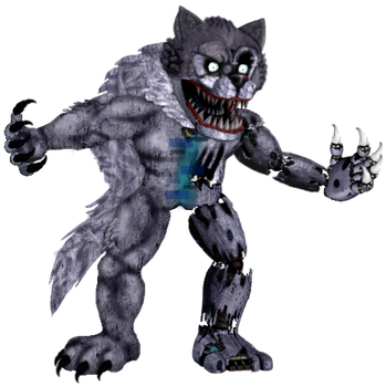 Twisted Wolf by TheRealBoredDrawer