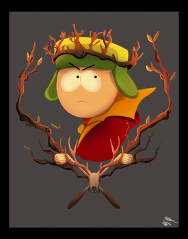 Kyle broflovski-The stick of Truth. by AndeanCondor21