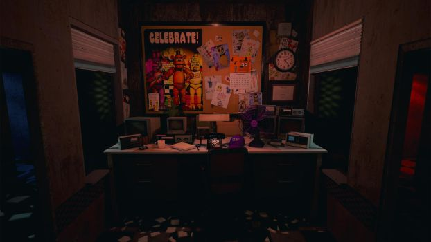 Five Nights at Freddy's - UE4 by Sklarlight