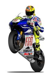 Valentino Rossi MotoGP Yamaha by RacerTees