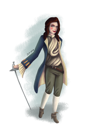 Challenge Entry: Julie d'Aubigny by NycroShears