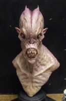 Resin cast alien 1 by BOULARIS
