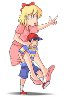 [Earthbound/Mother2] Piggy by Display-This-Anyway