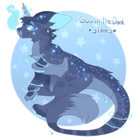 Glow in the Dark Stars -  Auction Closed by Felispirit