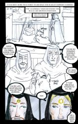 Exalted - First Comic Page by supremetechgoddess